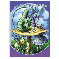 RP505 - Alice in Wonderland Poster