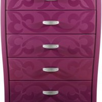 Belle Noir Purple Chest :: Rooms To Go Kids - Chests