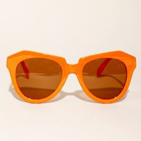 Coral geometric sunglasses [Mor6733] - $20 : Pixie Market, Fashion-Super-Market