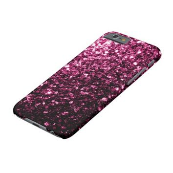 Beautiful Pink sparkles iPhone 6 case by PLdesign