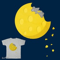 """""""If I could take a mouse to the moon…"""" on Threadless"""