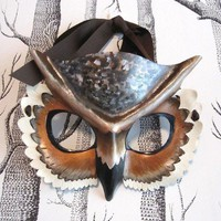 Made to Order Child Size Great Horned Owl by SundriesAndPlunder