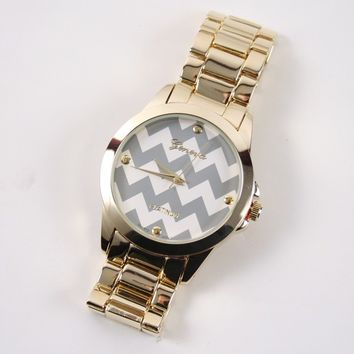 Katydid Chevron Fashion Women's Watch