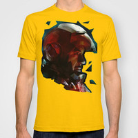 Tony Stark /// Iron Man T-shirt by ▲ Bright Enough | Society6