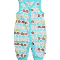 Elephants Sleeveless Romper