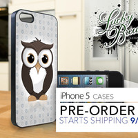iPhone 5 Hard Case - Cute Owl Animal - Phone Cover PRE-ORDER