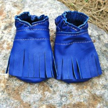 Fringe Baby Booties — Beyond Buckskin Boutique
