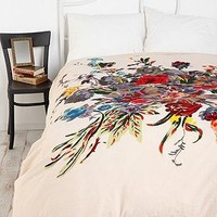 UrbanOutfitters.com &gt; Romantic Floral Scarf Duvet