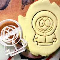 Kenny South Park Cookie Cutter - Made from Biodegradable Material