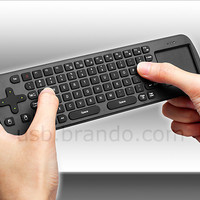 All about USB | USB 3.0, USB Gaming, USB Lifestyle | Brando Workshop : Measy Wireless Keyboard with Touchpad (RC12)