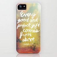 James 1:17 iPhone Case by Ryan Miranda | Society6