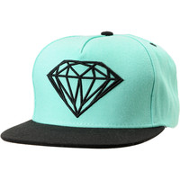 Diamond Supply Brilliant Mint/Black Snapback Hat