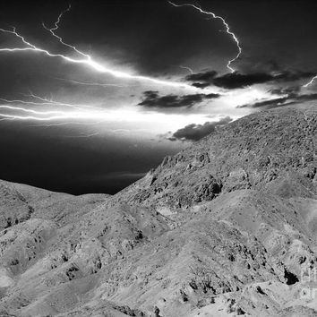 Storm On The Mountain by Athala Carole Bruckner