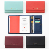 Pochette Leather Diary Wallet