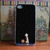 calvin and hobbes galaxy for iPhone and Samsung galaxy case (available for iPhone 6 case)