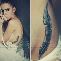 Tatt-Who / feather | Flickr - Photo Sharing!