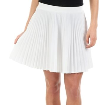 Soprano Juniors Pleated Skater Skirt at Von Maur