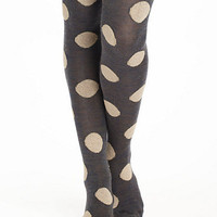 Boucle-Spotted Tights