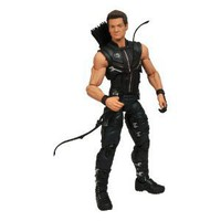Diamond Select Toys Avengers Movie Hawkeye Action Figure: Amazon.co.uk: Toys &amp; Games