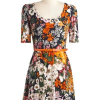 Plant by Numbers Dress | Mod Retro Vintage Dresses | ModCloth.com