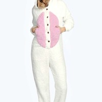 Cici Supersoft Fluffy Bunny Onesuit