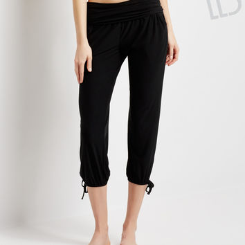 Aeropostale  LLD Solid Studio Crop Yoga Pants