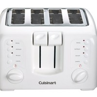 Cuisinart CPT-140 Electronic Cool Touch 4-Slice Toaster, White