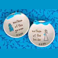 Mother of the Bride & Groom Wedding Keepsake Bowls