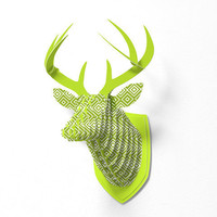 DENY Designs Home Accessories | Lisa Argyropoulos Diamonds Are Forever Fern Faux Deer Mount