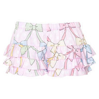 Peter Alexander - Pastel Collection - Bow Ruffle Short