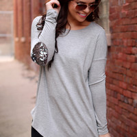 Grey Area Top