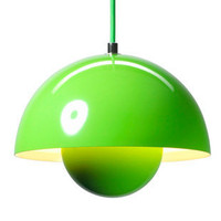 Flower Pot VP1 Pendant Light by &Tradition, in Green [GS-T-207049] - $370.00 - GSelect  - Gifts for Men. Unique, Cool Gift Ideas and Presents