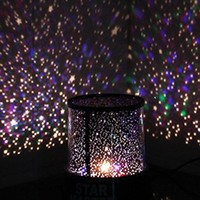 Innoo Tech LED Night Light Projector Lamp Children's Christmas Gift With Amazing Sky Star Scene (With USB Cable) for Bedroom Indoor Decoration