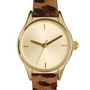 River Island Leopard Helen Watch at asos.com
