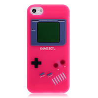 Pink GameBoy Silicone Case for iPhone 5 & 5s