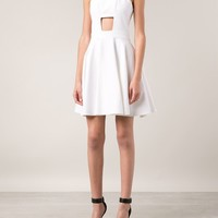 Cushnie Et Ochs Cut-out Flared Dress - Hirshleifers - Farfetch.com