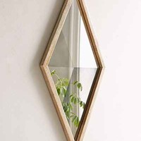 Magical Thinking Geo Diamond Mirror- Brown One