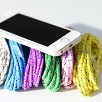 10ft Bungee Iphone 5&6 Charging Cord w/FREE Charging Rack!
