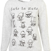 Cats Sweat By Tee And Cake - New In This Week  - New In