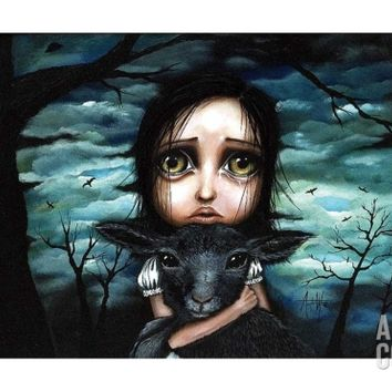 Clarice Art Print by Angelina Wrona at Art.com