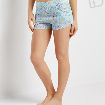 Aeropostale  LLD Hearts Sleep Shorts
