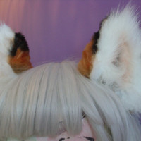 clip in fox ears by lordteeno on Etsy