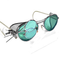 Steampunk Goggles  Vintage WILLSON Goggles Glasses by edmdesigns