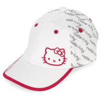 Hello Kitty Premier Collection Script Hat