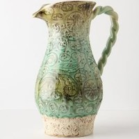 Chicory Pitcher - Anthropologie.com