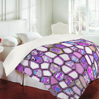 DENY Designs Home Accessories | Ingrid Padilla Violet Cells Duvet Cover