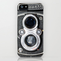 iPhone 5 Case, iPhone 5, vintage camera, case for iPhone 5, twin lens reflex, bomobob, Yashica TLR, medium format, iPhone accessory