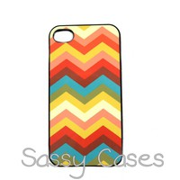 Chevron IPhone 4 IPhone 4S Case Tre.. on Luulla