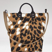 DIANE von FURSTENBERG Brenda Printed Tall Canvas Tote - New Designers - Bloomingdales.com