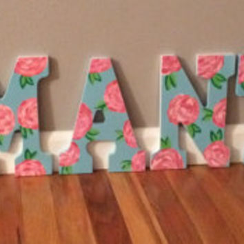 Wooden Wall Decor Letters